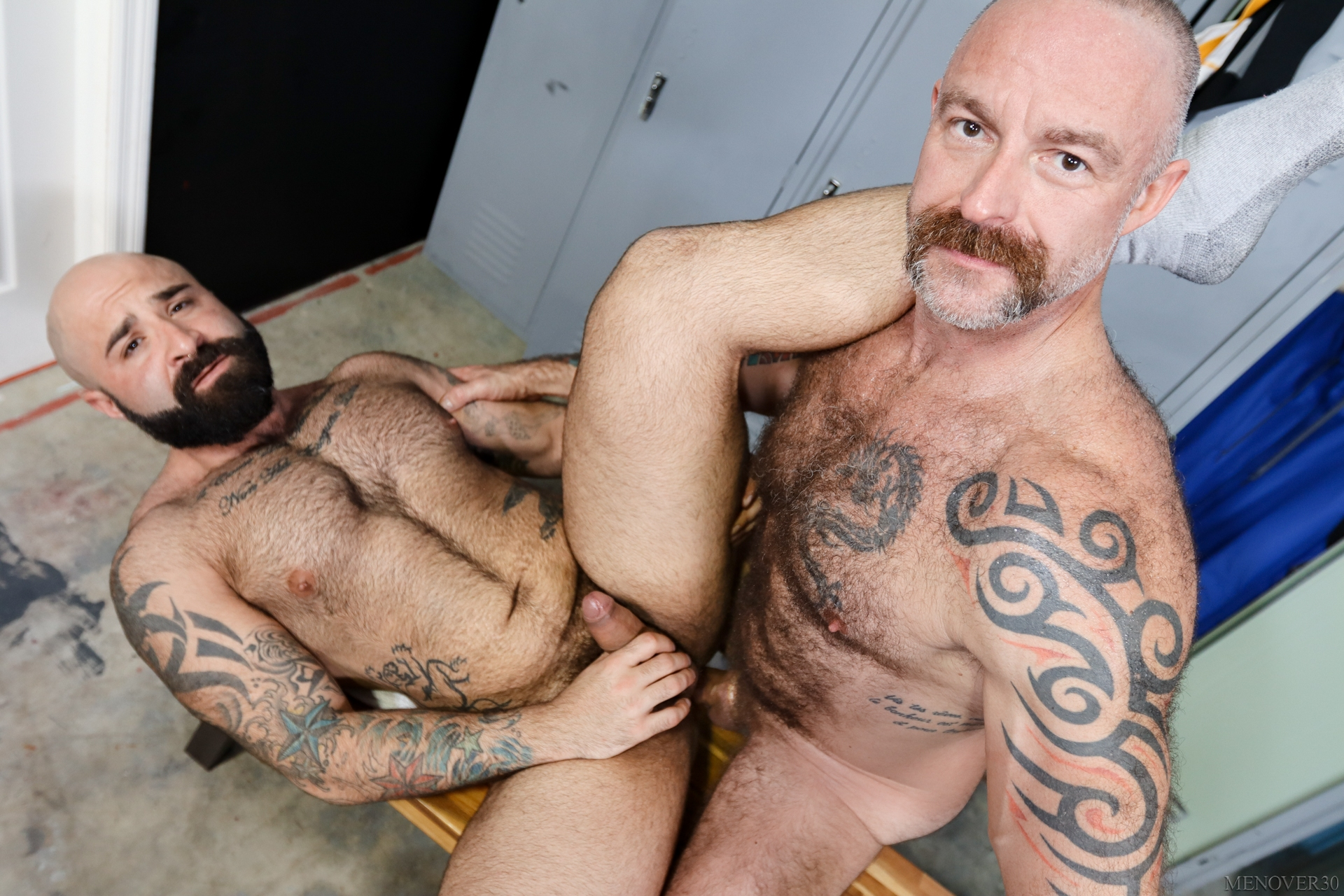 Atlas Grant And Musclebear Montreal Have Locker-Room Fun For Men Over 30